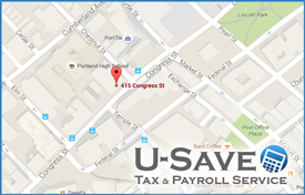 U Save Tax Service Office Location Portland, Maine