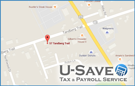 U Save Tax Service Office Location Windham, Maine